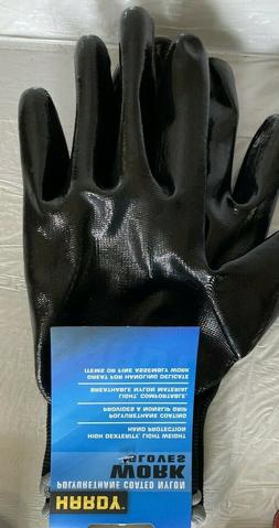 Hardy Polyurethane Coated Nylon Work Gloves X-LARGE