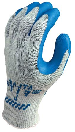 3 pair atlas fit rubber coated gloves
