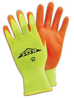 Magid ROC Polyurethane Palm Coated Gloves Size 10, 12 Pair