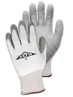 Magid ROC Polyurethane Palm Coated Knit Gloves Size 6, 12 Pa