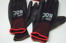 Magid ROC Polyurethane Palm Coated Work Gloves Size 7, 5 Pai