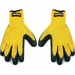 DEWALT Rubber Coated Knit Work Gloves, Size XL - DPG70XL