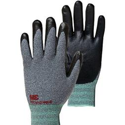 3M Super Grip 200 Gray Nitrile Foam Coated Work Safety Glove