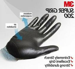 3M Super Grip 200 Nitrile Palm Coated Assembly Mechanic Work