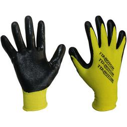 Technicians Work Gloves Nitrile Coated Palm Small-medium Tou