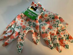 True Living Outdoors Rubber Coated Polyester Floral Print Ga