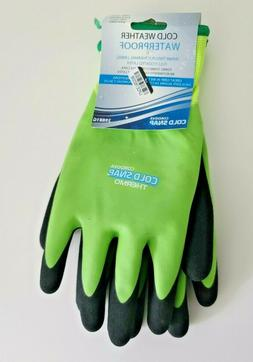Cordova Cold Snap Waterproof Cold Weather Green Black Gloves