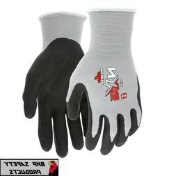Work Gloves MCR Safety NXG Foam Nitrile Micro Foam-Palm Coat